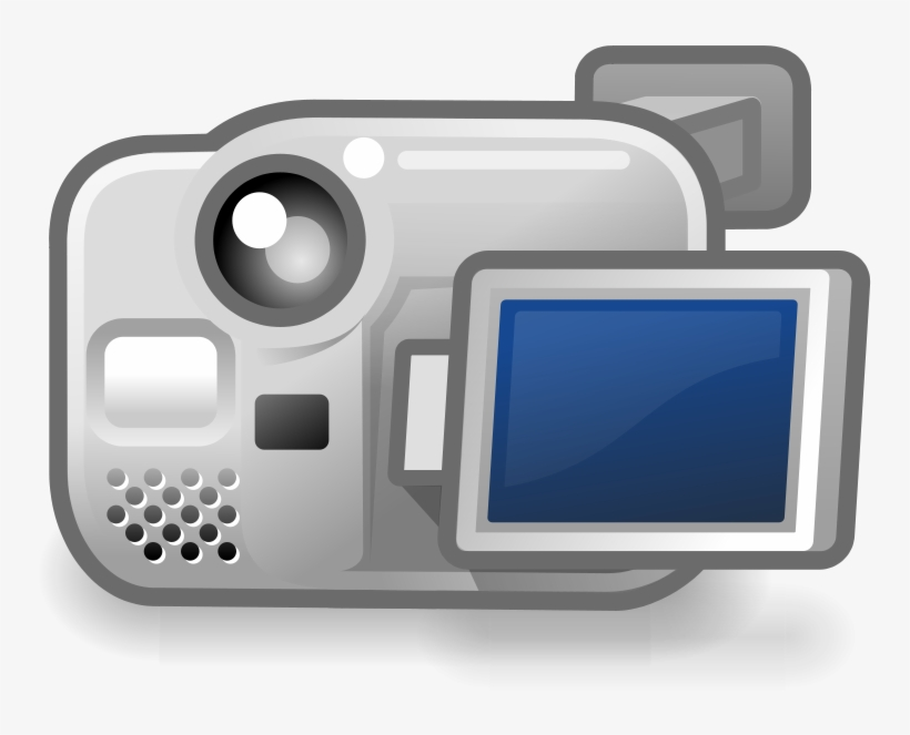 Tango Camera Video Free Vector - Video Camera Icon, transparent png #912935