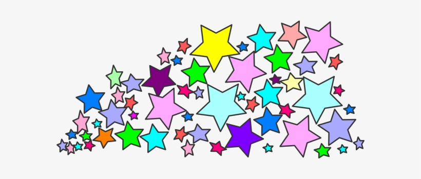 Stars Clipart Spray - Cluster Clipart, transparent png #913960
