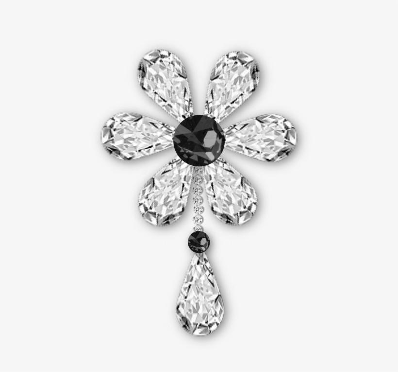 Diamond Flower Png, transparent png #917499