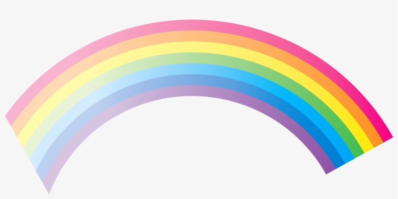 Rainbow Png Clipart Rainbow Png, Clipart Gallery, High - Cartoon Rainbow No Background, transparent png #918449