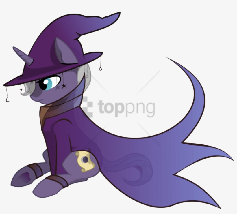 Free Png Wizard Mlp Pony Png Image With Transparent - Wizard Hat Pony, transparent png #9100217