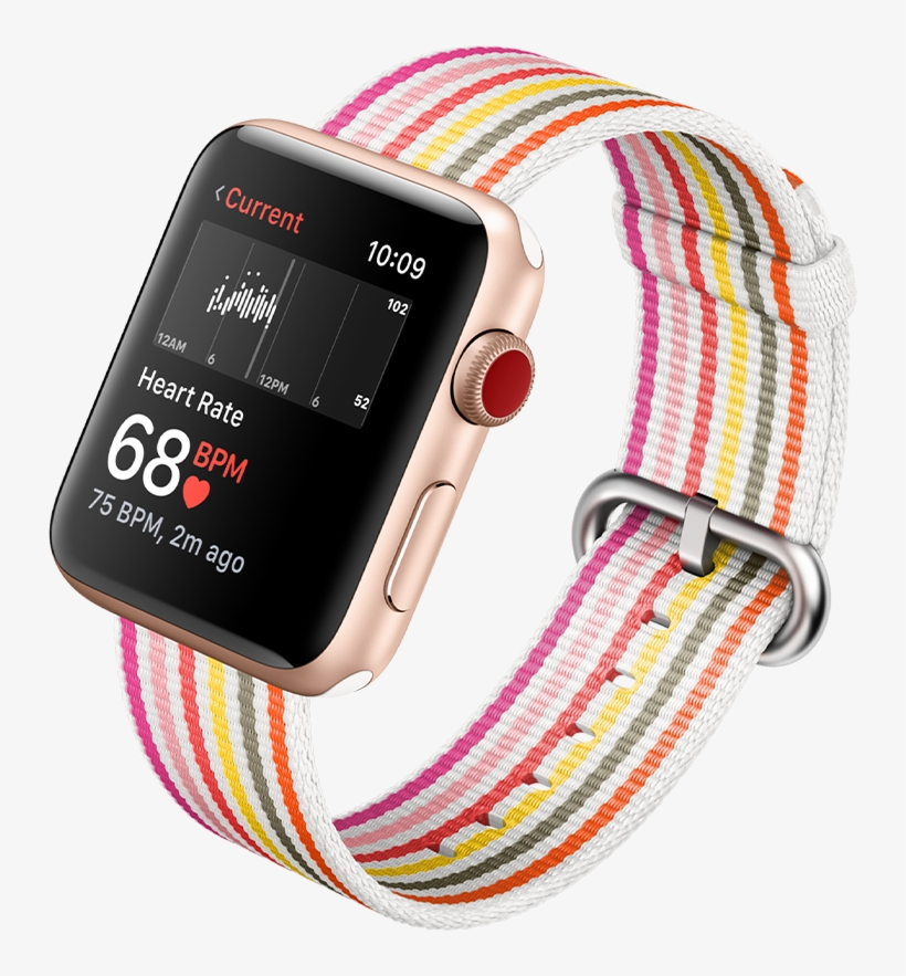 Heart Rate App On Apple Watch Series - Heart Rate Tracking, transparent png #9101686