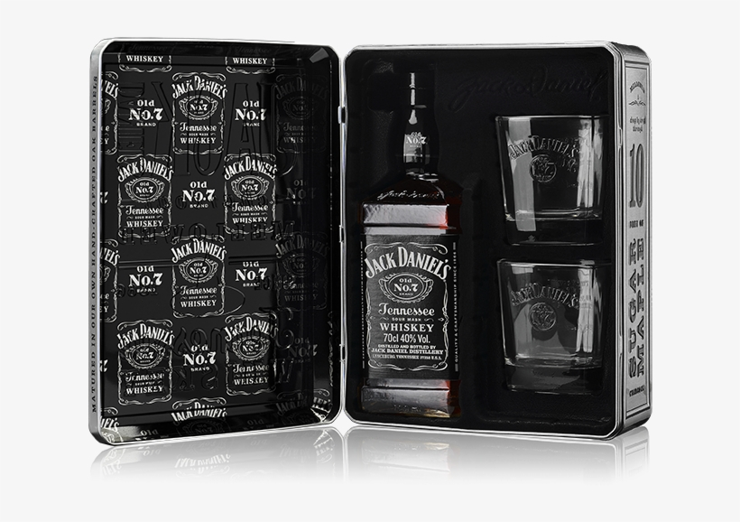 Jack Daniel's Whiskey Gift, transparent png #9108848
