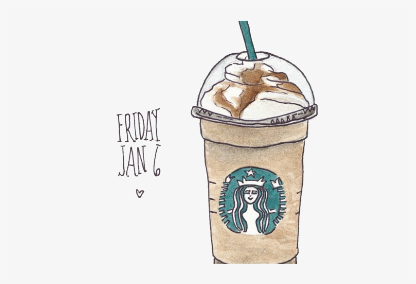 Starbucks Clipart Starbucks Drink Starbucks Cup Drawing Free Transparent Png Download Pngkey