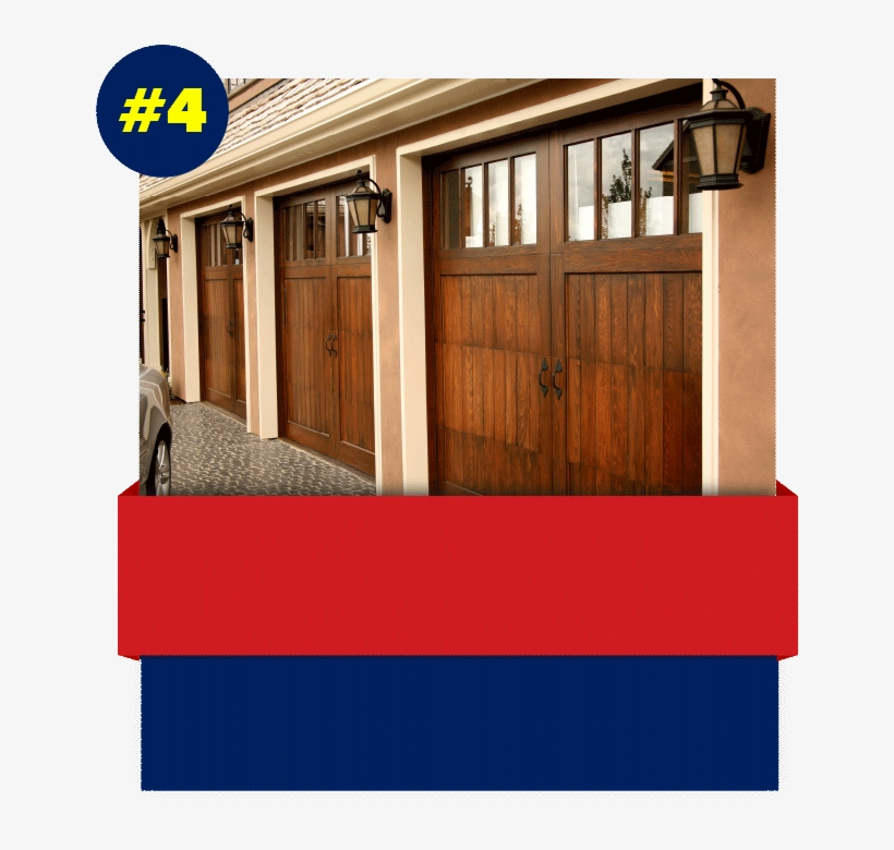 Custom Wood Door - Insulated Garage Door Uk, transparent png #9112442