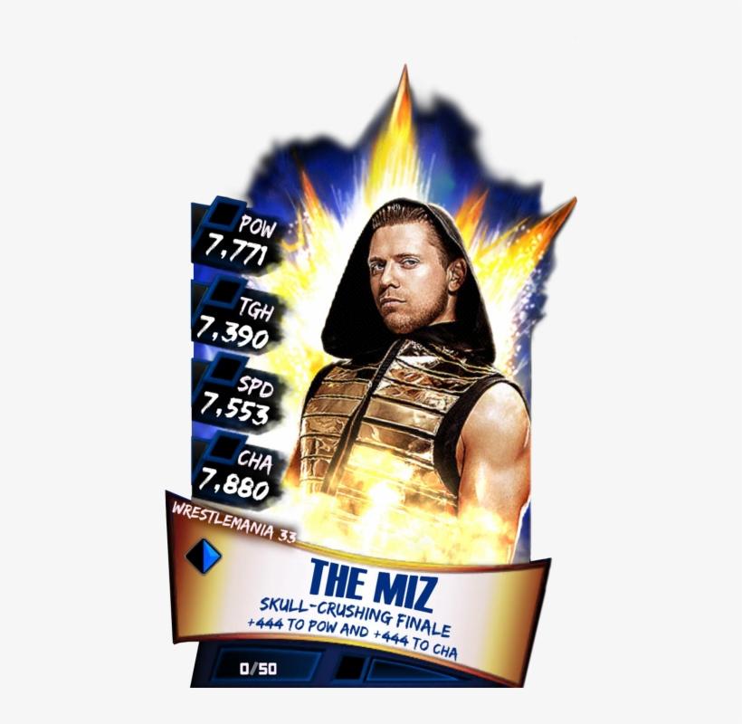 Themiz S3 14 Wrestlemania33 - Wwe Supercard Nikki Bella, transparent png #9115922