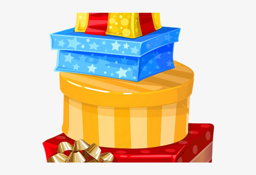 Birthday Present Clipart Merry Christmas Gift - Birthday Messages For Chachi, transparent png #9118995