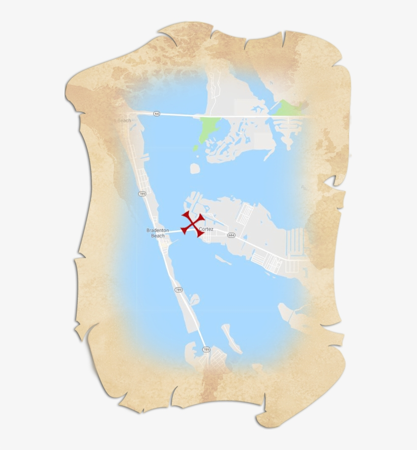 Treasure Map Graphic - Visual Arts - Free Transparent PNG ...