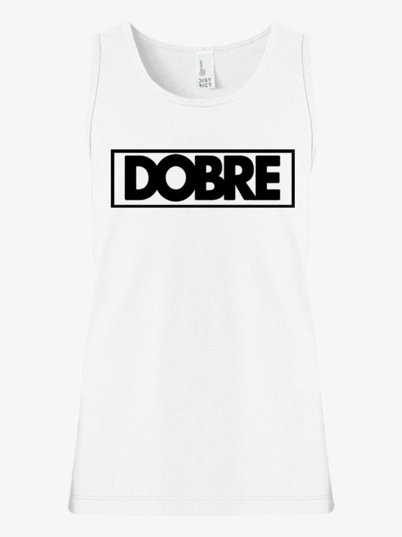 Dobre Twins Brothers Logo Girls' Tank Top T-shirts - Active Tank, transparent png #9130231