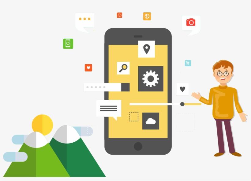 Providing The Best Mobile App Solutions - Mobile App Development, transparent png #9133295