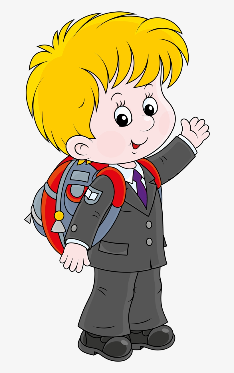Animation Schools, Starting School, Aluna, Clipart, - Cartoon Student And School, transparent png #9135895