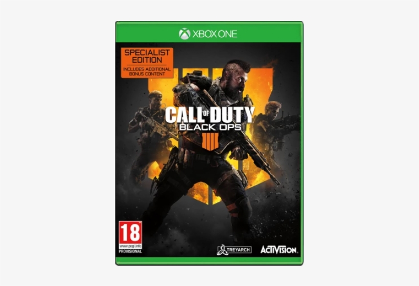 Call Of Duty - Black Ops 4 Xbox One, transparent png #9144188