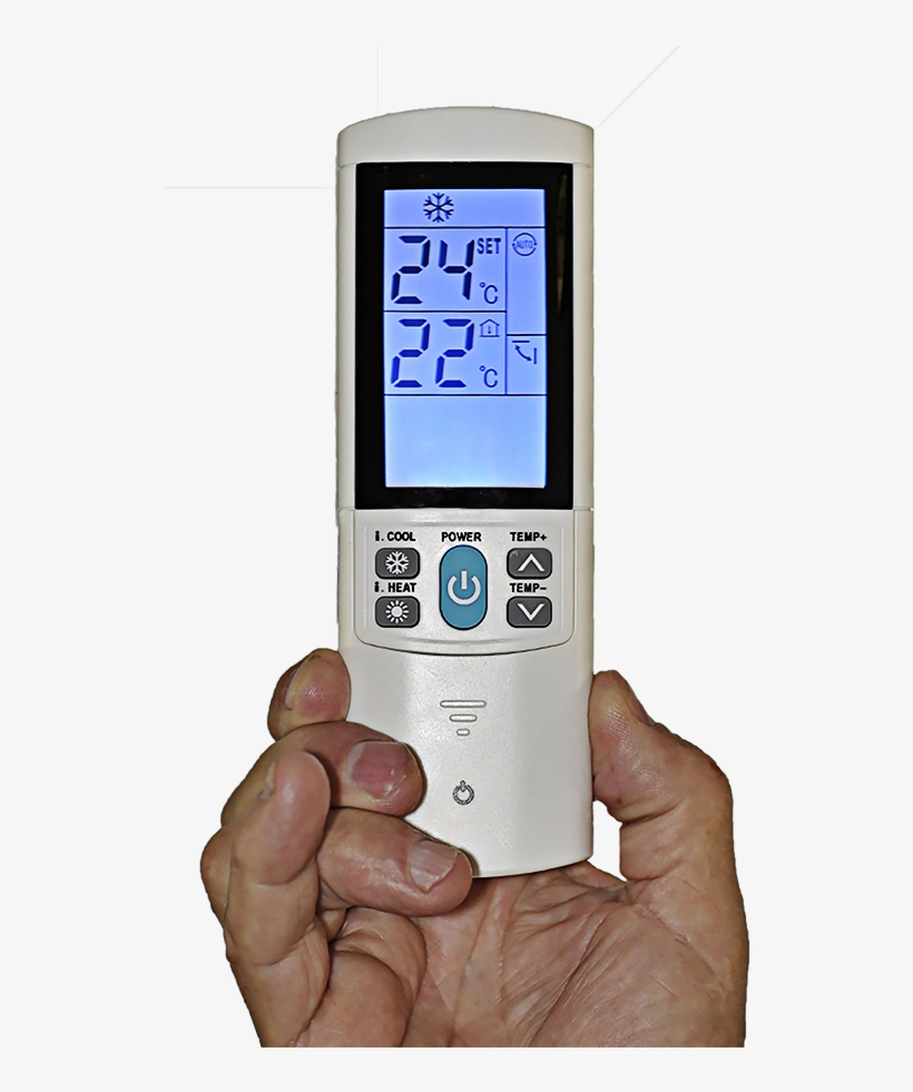 Worlds Most Advanced Ac Remote - World Best Air Con Universal Remote, transparent png #9144861