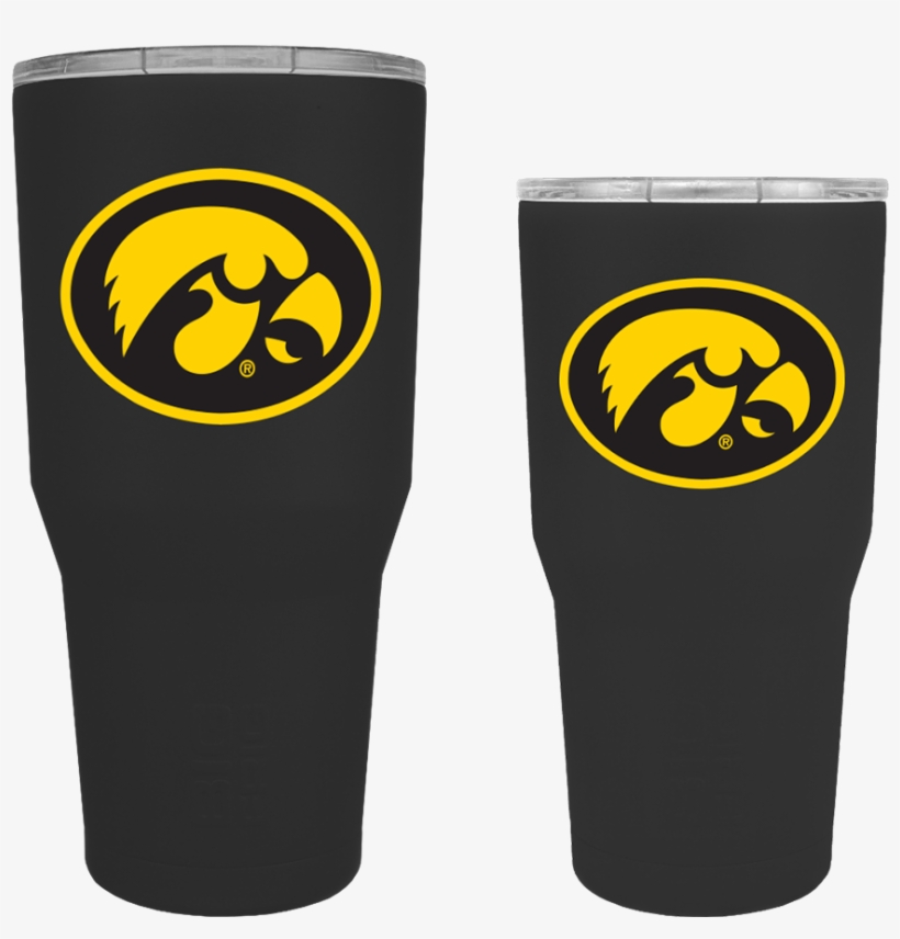 Iowa Hawkeyes Tigerhawk Oval Tumbler - Iowa Hawkeyes, transparent png #9150410