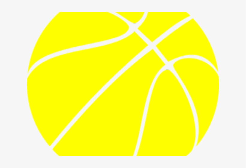 Basketball Clipart Yellow - Breast Cancer Logo Basketball, transparent png #9154113
