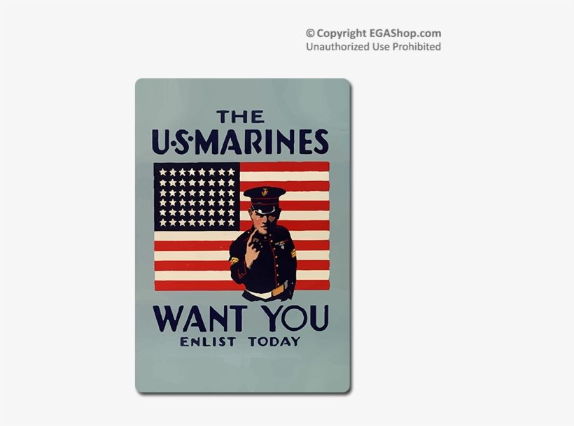 Us Marines Want You Poster, transparent png #9156117