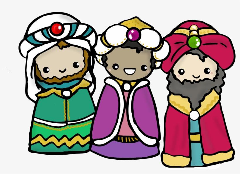 Reyes Magos - Kawaii De Los Reyes Magos, transparent png #9157323