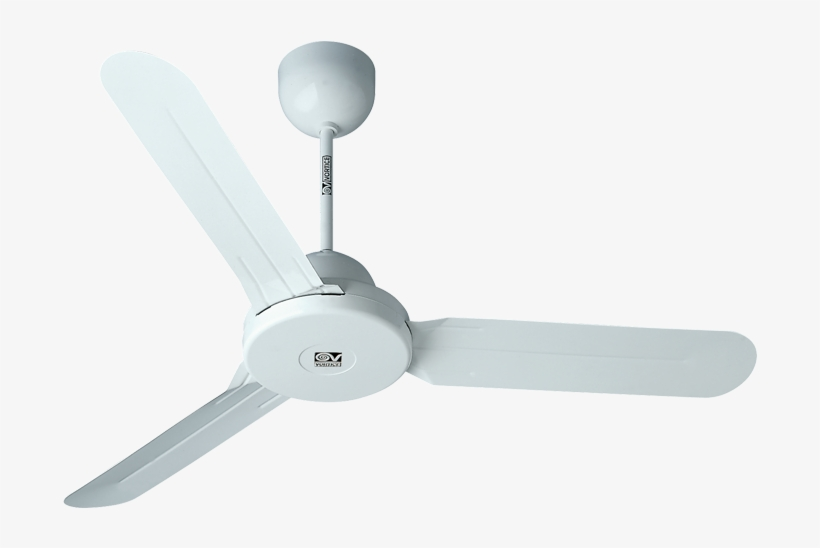 Ceiling Fans With Or Without Light - Vortice Nordik 1 S, transparent png #9157685