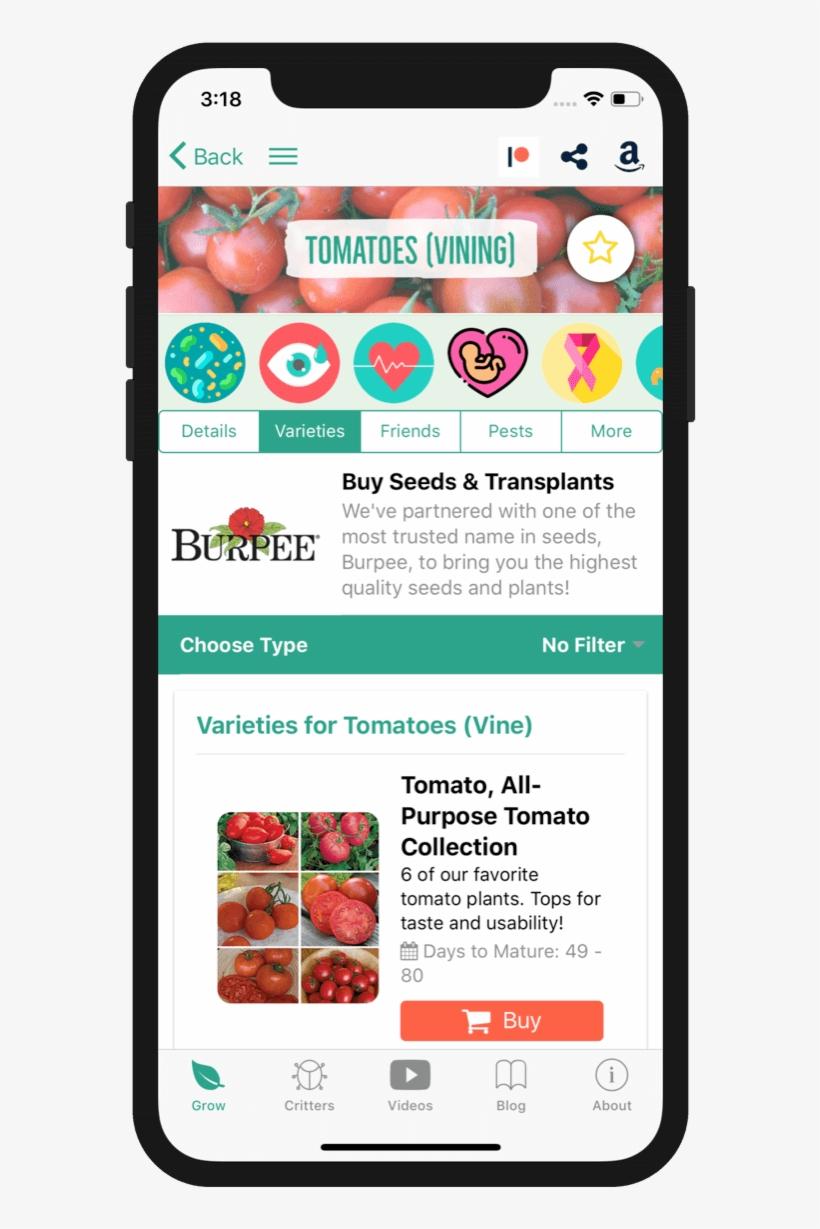 Vegetable Garden Planner App Android | Garden Perfect