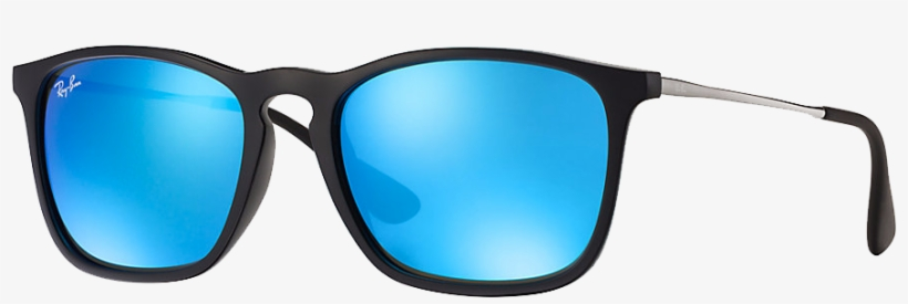 Sunglasses Ray-ban Accessories Mirrored Ban Clothing - Ray Ban Rb4171 Erika 601 5a, transparent png #9159406