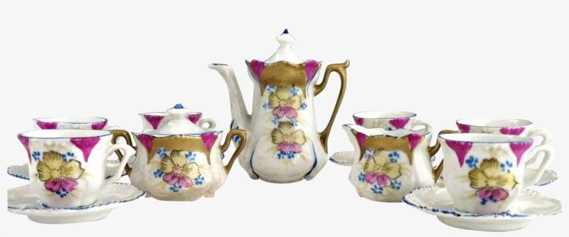 Tea Set Png, transparent png #9162513