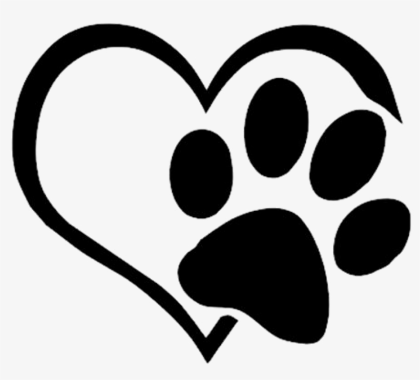 Mq Black Heart Footsteps Footprint Silhouette Paw Print Heart Png Free Transparent Png Download Pngkey Paws clipart black and white. mq black heart footsteps footprint