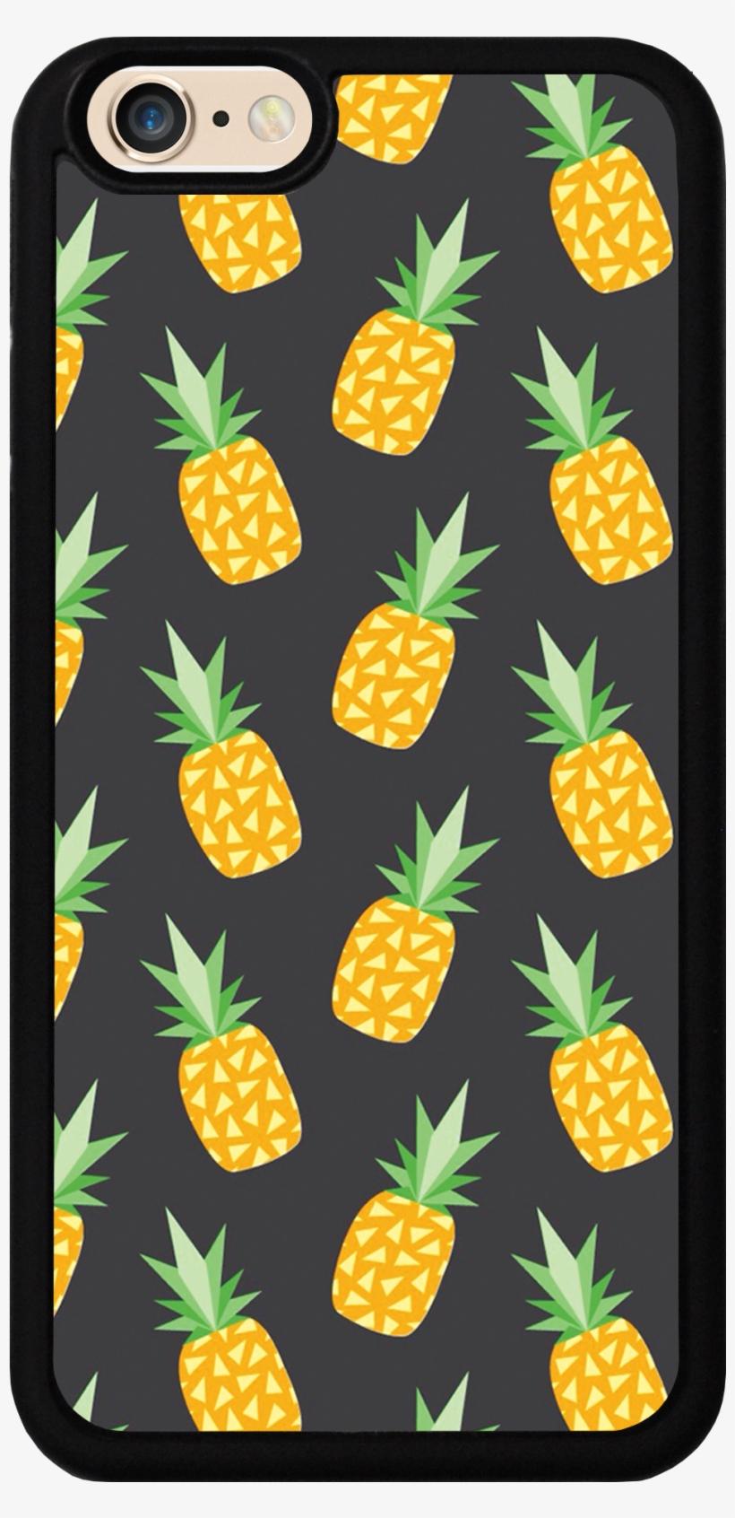 Pineapple Case - Fruits Wallpaper Lock Screen Hd, transparent png #9174602