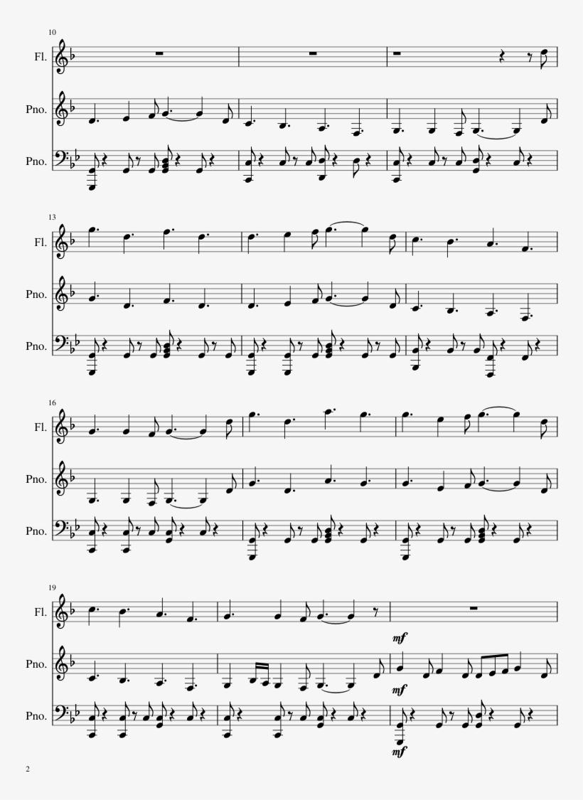 Braum Sheet Music Composed By Christian 'praeco' Linke/ - League Of Legends Braum Theme Sheet Music, transparent png #9174831