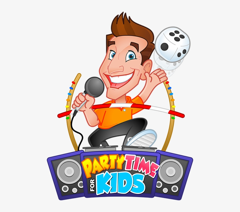 Party Time For Kids - Kids Party Time, transparent png #9177394