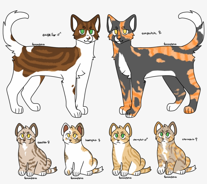 Warrior Cats , Warrior Cats Base F2u , Free Transparent PNG