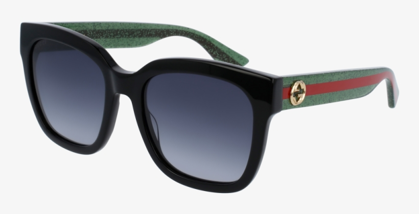 Gucci Gg0034s - Gucci Sunglasses Women, transparent png #9185436