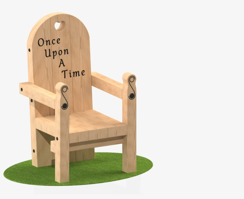 The Once Upon A Time Chair Is A Great Addition To Any - Folding Chair, transparent png #9185635
