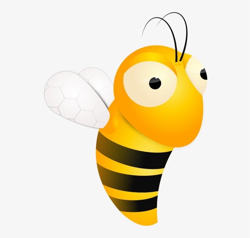Animated Collection Illustration Of Cute Free Clip - Animated Bee Transparent, transparent png #920403