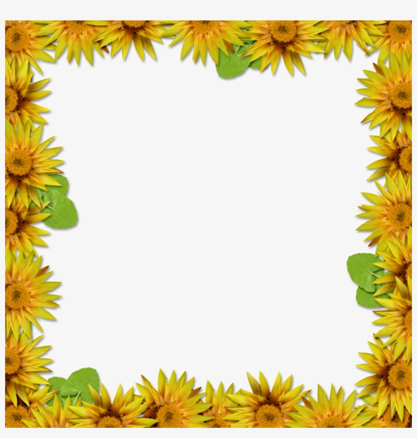 Flower Frame Overlay By - Flower Frame Portrait Hd, transparent png #923515