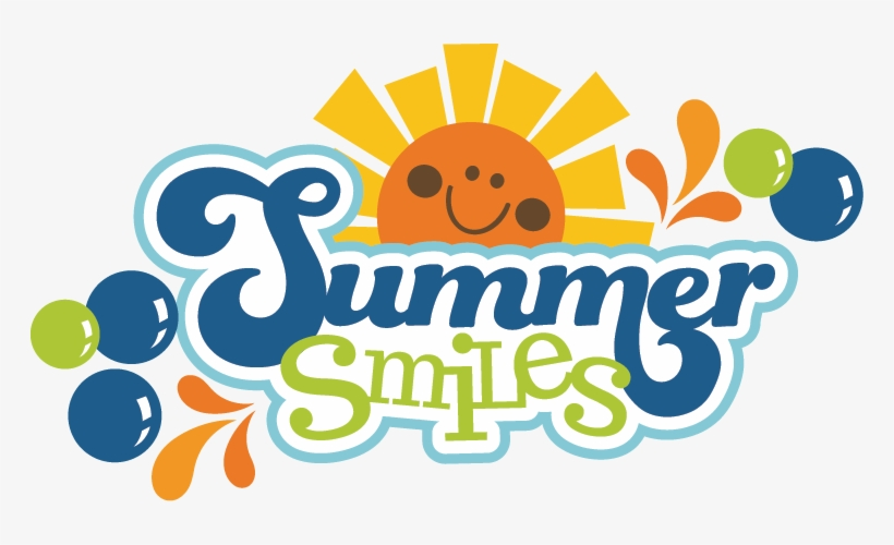 Summer Smiles Svg Scrapbook Title Summer Svg Files - Summer Scrapbook Titles, transparent png #925002