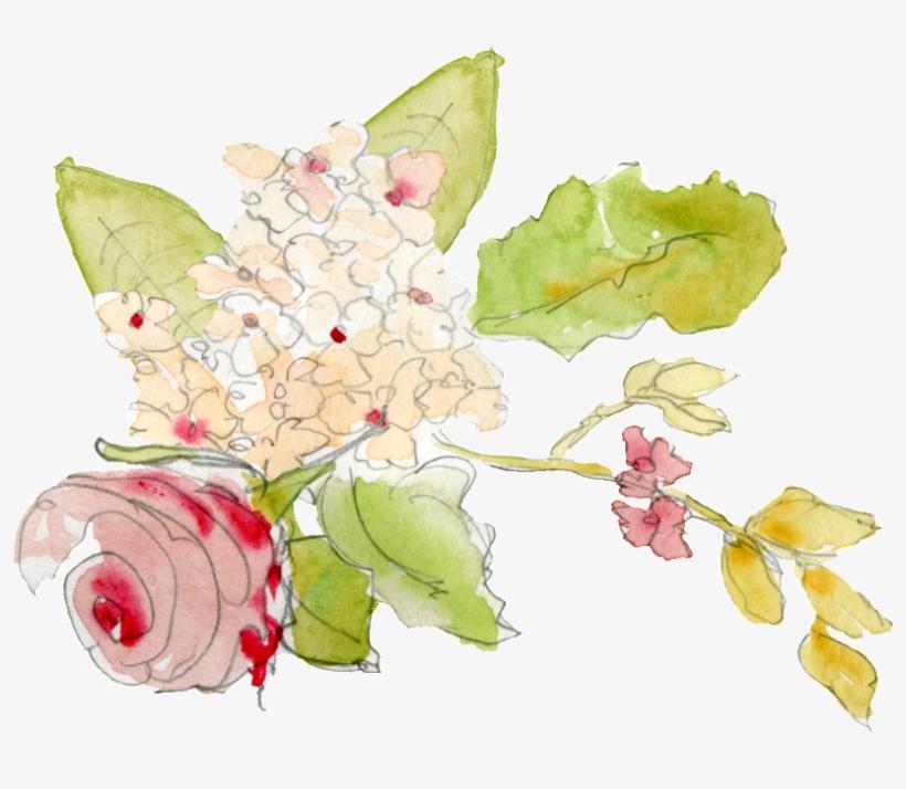 Png De Ornamento Transparente E De Cor Vermelha - Watercolor Painting, transparent png #925255