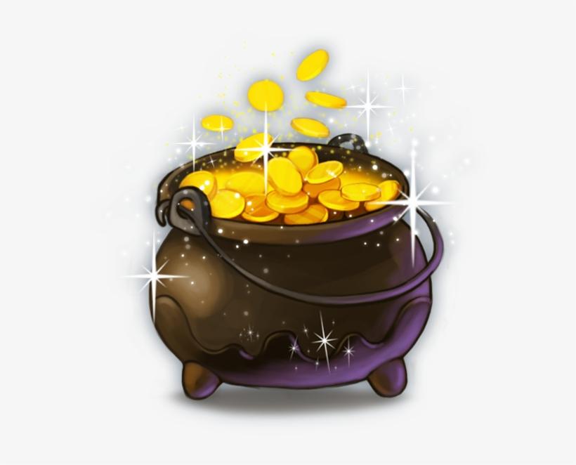 06 Symbol Cauldron Goldenshamrock Thumbnail - Thumbnail, transparent png #927599