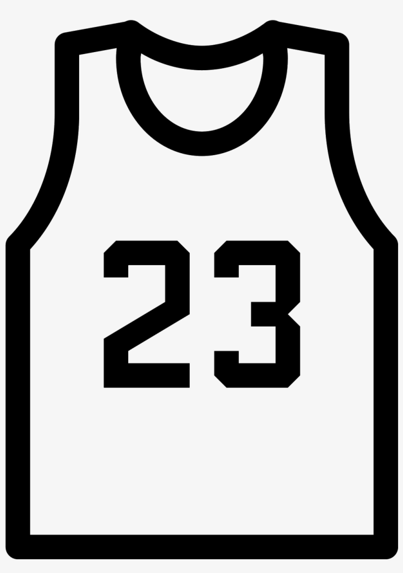 Basketball Vector Png - Basketball Jersey Icon Png, transparent png #927677