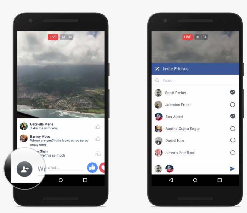 Facebook Enhances Live Video Feature With Reactions, - Facebook Live