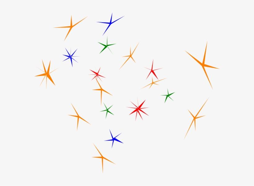 Gold Sparkle Star Clipart - Sparkle Clip Art, transparent png #929575