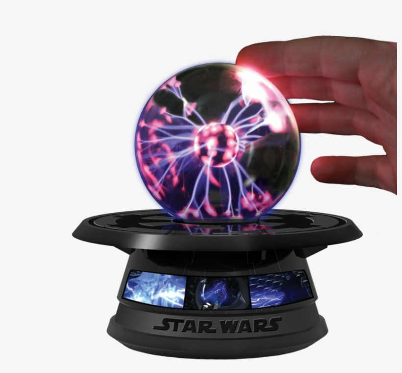With This Force Lightening Energy Ball You Can Experiment - Star Wars Force Lightning Energy Light-up Ball Science, transparent png #929762