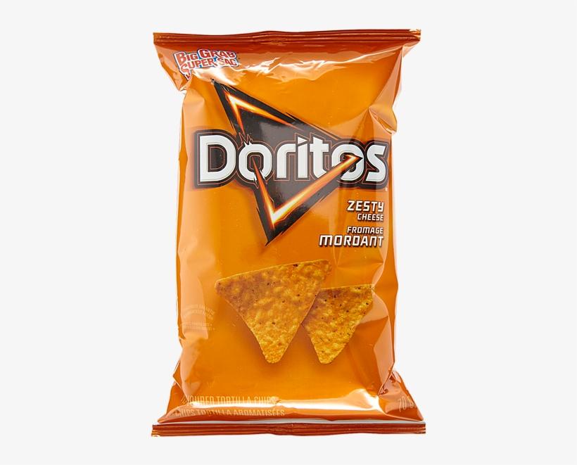 Doritos Zesty Cheese 32x70g Potato Chips Halloween - Corn Chips Doritos, transparent png #9204660