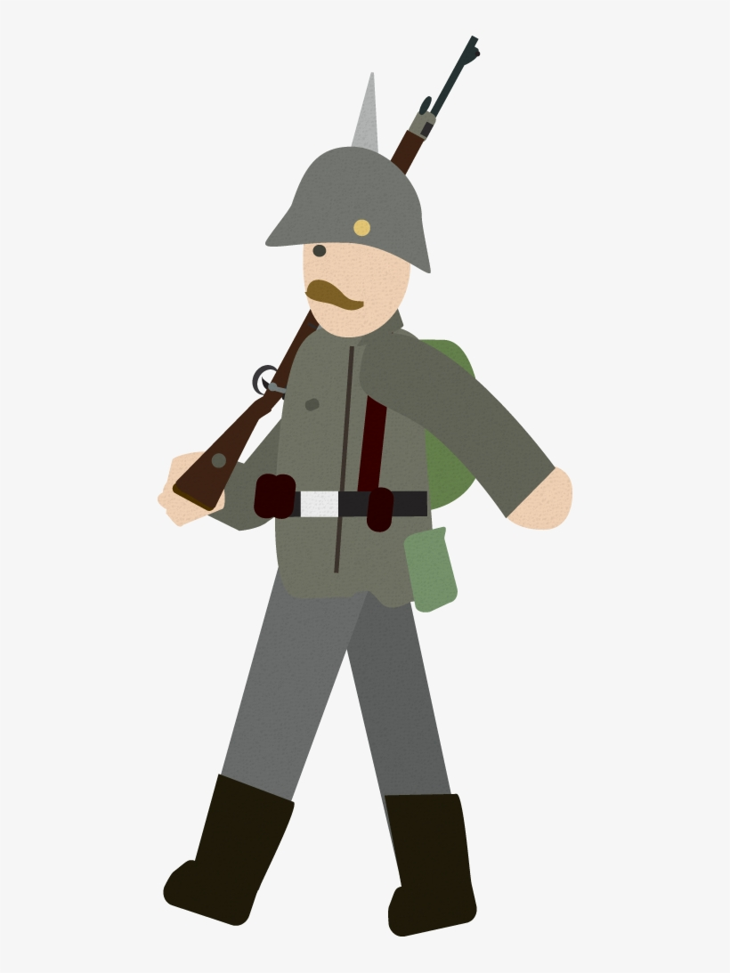 Ww1 German Soldier Http - Simple History World War 1, transparent png #9207153