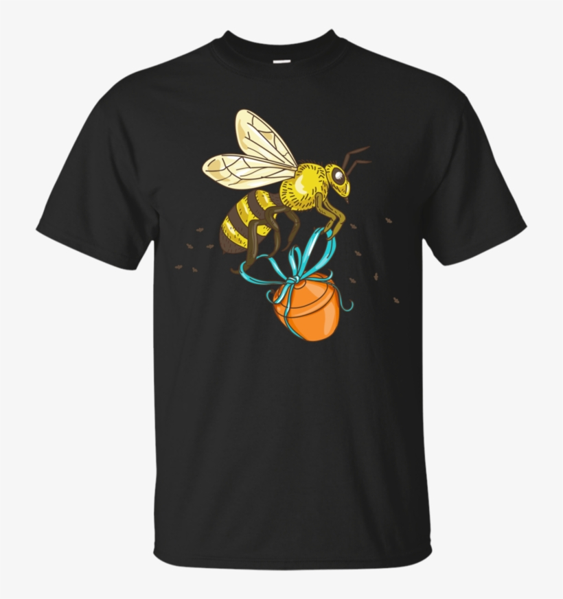 Bee Carrying Honey Pot Drawing - I M Not Short I M Just More Down, transparent png #9207656