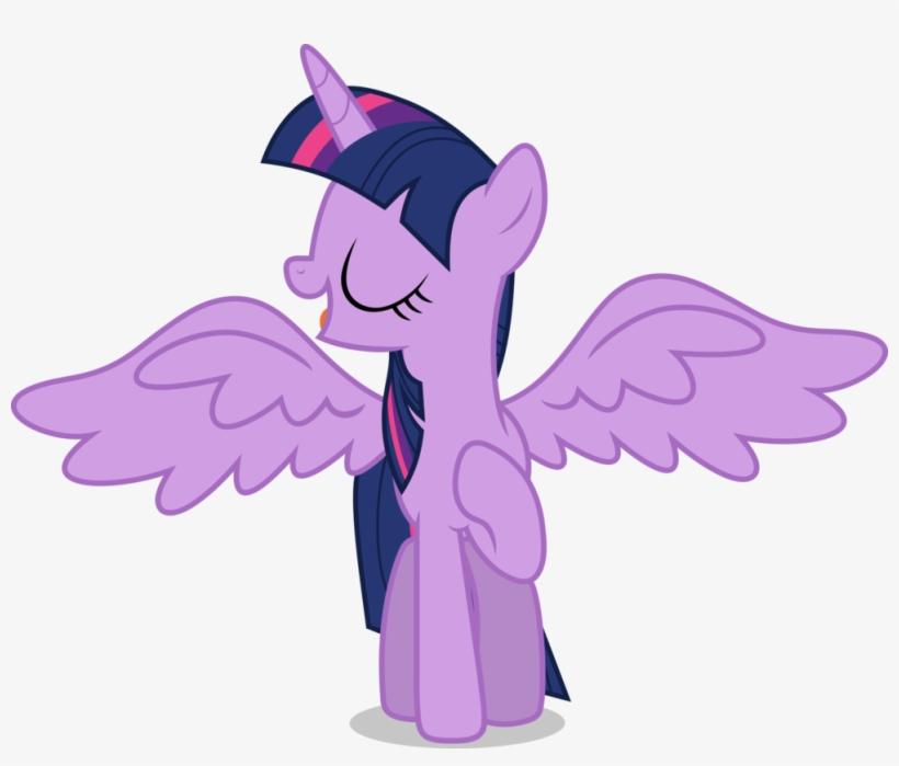 Mlp Fim Twilight Sparkle Vector By Luckreza8 - Mlp Twilight Sparkle Wings, transparent png #9208049