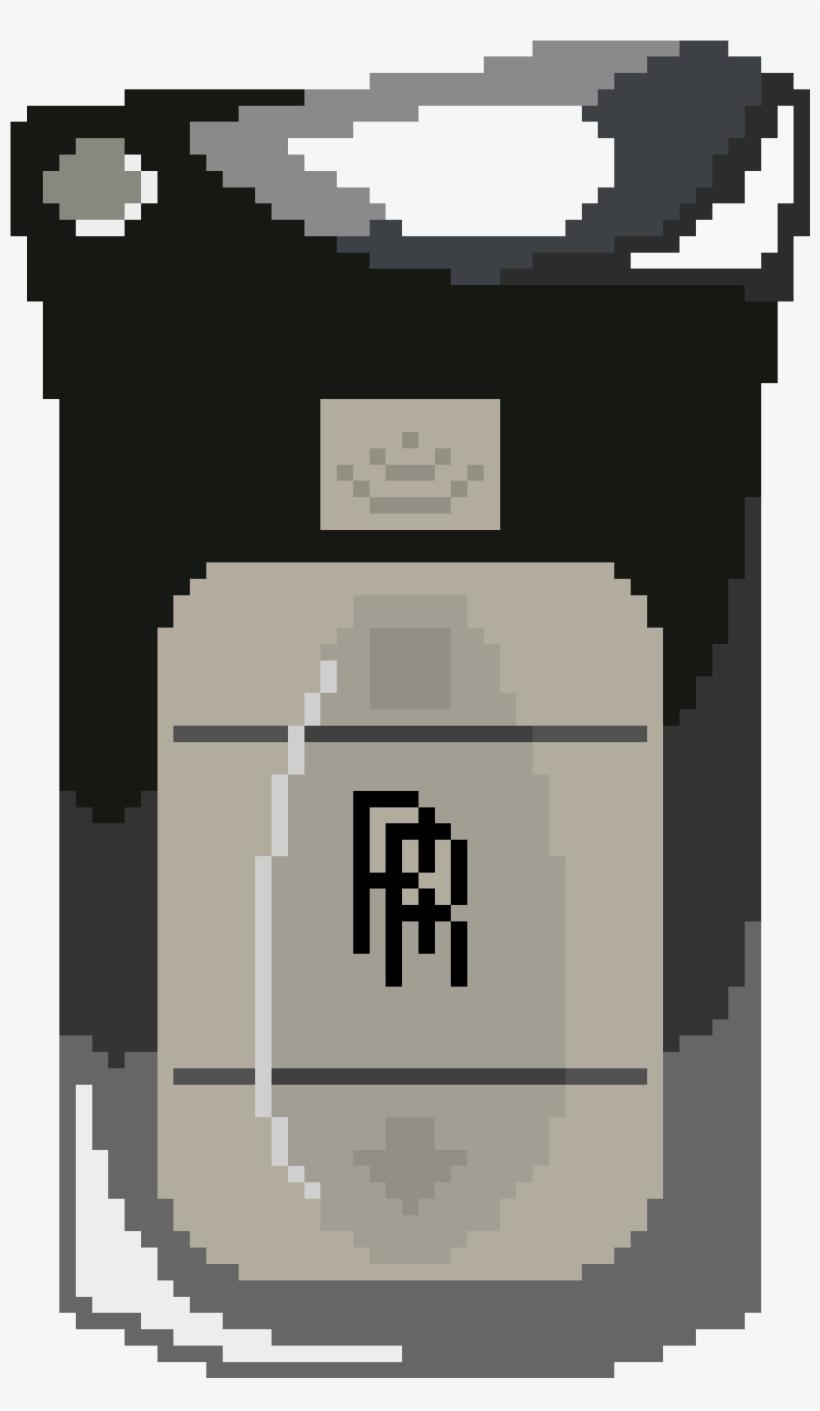Rolls Royce - Rolls Royce Logo Pixel Art, transparent png #9218457