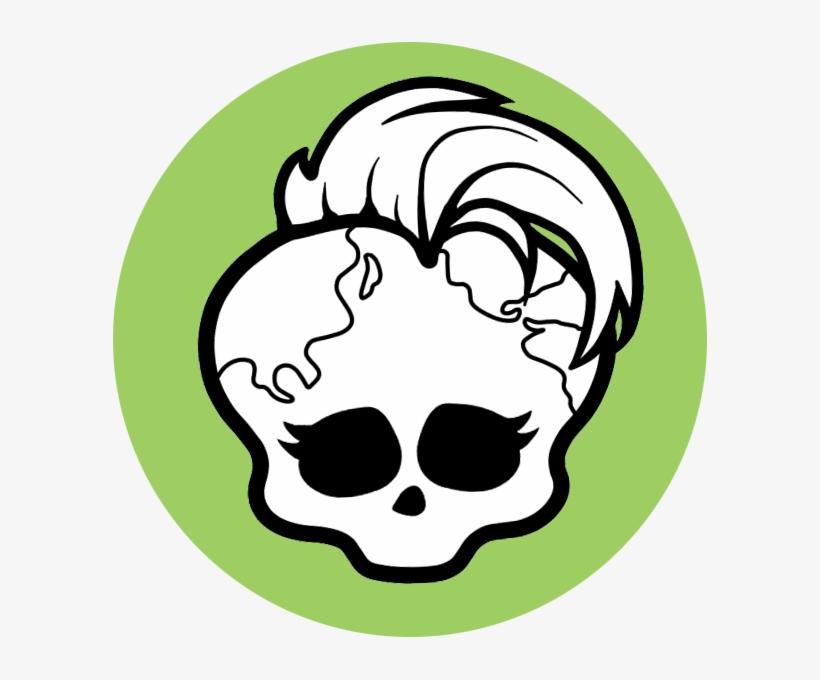 Картинка череп из монстер хай