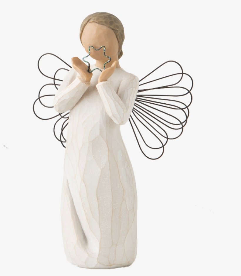 Bright Star Angel Figurine - Willow Tree, transparent png #9219788