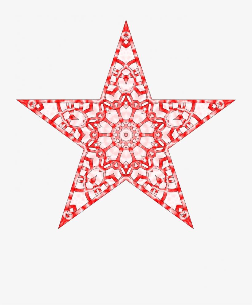 Christmasree Vintage Star Image Freeuse Downloadechflourish - Printable Tree Topper Star, transparent png #9222160