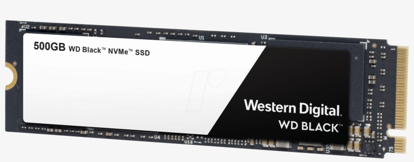 Wd Black Nvme Ssd 500 Gb, M - Wd Black Ssd 500gb Nvme, transparent png #9222777